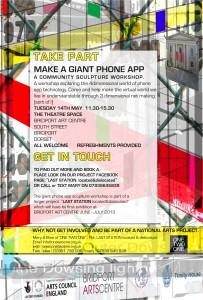 300413 phone app poster