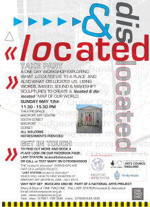 a located & dislocated poster