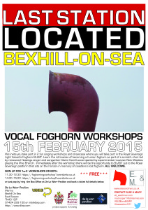 foghorning workshop de la warr