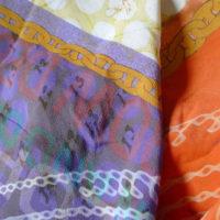 Silk skarf